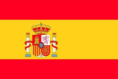 BPH ESP150R Bandera de España, Raso, 100 x 150 cm: Amazon.es: Jardín