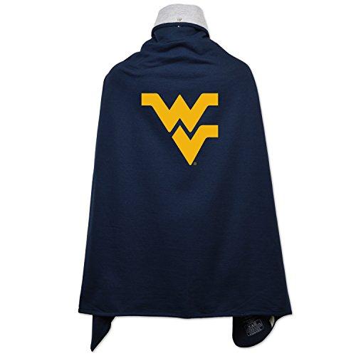 (NCAA West Virginia Mountaineers Children Cape Drape, One Size,)