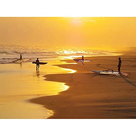 PHOTOGRAPHY SEASCAPE WAVE SEA SURF BEACH SUNRISE SURFERS ...