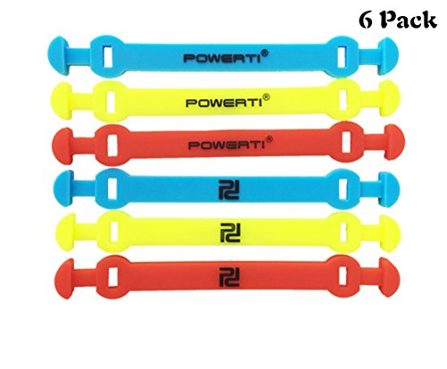 (MiniXX Tennis Vibration Dampener-Pack of 6-Shock Absorber For Strings,Premium-Durable & Long-Lasting(PT 2017 Strip) (blue,yellow&red, 6pcs))