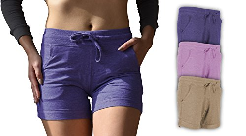 Sexy Basics Women's 3 Pack Active Wear Lounge Yoga Gym Casual Sport Shorts – DiZiSports Store