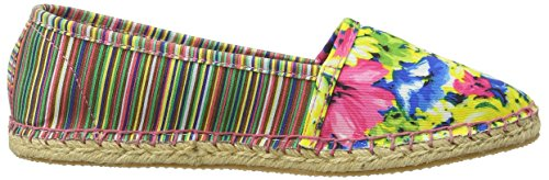 Rocket DogTemple - Alpargatas para Mujer Multicolor (Natural/Pink Ebd)