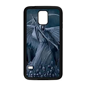 HXYHTY Customized Print Grim Reaper Hard Skin Case For Samsung Galaxy S5 I9600