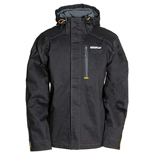 Caterpillar Men's H20 Waterproof Jacket, Black, L