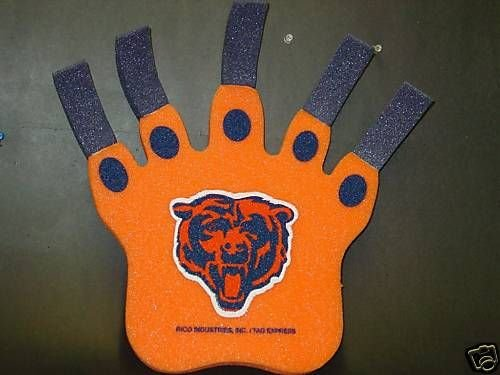 Chicago Bears Foam Bear Claw