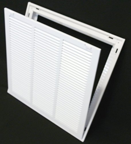 18-x-18-steel-return-air-filter-grille-for-1-filter-removable-facedoor-hvac-duct-cover-flat-stamped-face-white-outer-dimensions-205w-x-205h