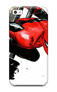 Excellent Iphone 5c Case Tpu Cover Back Skin Protector Spider-man