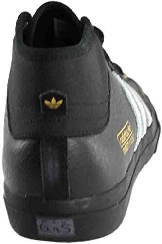 Uomini Adidas Matchcourt Mid X Snoop X Core Nero Skateboard / Oro Metallizzato