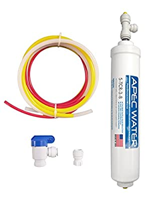 """APEC 3/8"""" Output Quick Dispense Upgrade Kit for Under-sink Reverse Osmosis Water Filter System (3-8-OUTPUT-KIT)"""