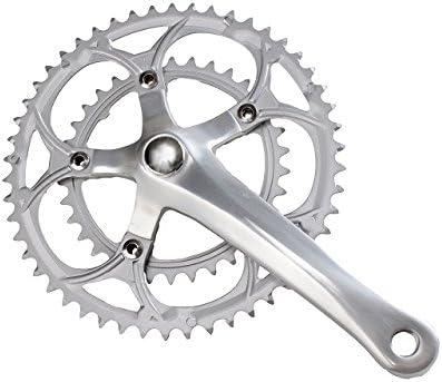 Bielas para bicicleta de montaña y de carreras (2 velocidades, 50-34 dientes, aluminio/acero): Amazon.es: Deportes y aire libre