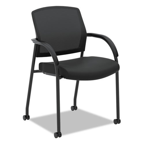HON Lota Multi-Purpose Side Chair - Office Chair or Training Room Chair, Black (Hon Adjustable Training Table)
