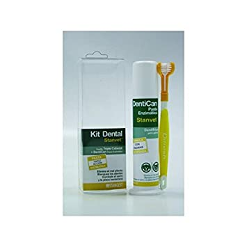Stangest Kit Dental con Cepillo y Pasta - 100 gr