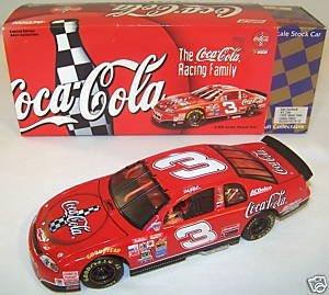 Race Sr Dale Earnhardt (Dale Earnhardt Sr #3 Red Coca Cola 1998 Monte Carlo 1/24 Scale Action Racing 1st Head to Head Race With Dale Jr Motegi Japan Hood, Trunk Open Limited Edition)