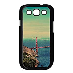 San Francisco Panorama Watercolor style Cover Samsung Galaxy S3 I9300 Case