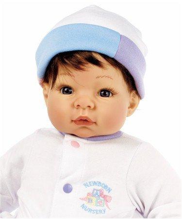 Lee Middleton Newborn Nursery Munchkin Brown Hair/Blue Eyes #934 by Lee -