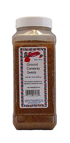 Bolner's Fiesta Extra Fancy Ground Caraway Seeds, 16 Oz. (Ground 16 Bottle Oz Seed)