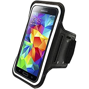 Black Sports Armband Case cover holder for Apple iPhone 6 Samsung Galaxy S5