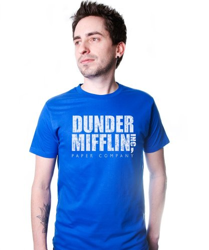 Dunder Mifflin Paper Company T-Shirt Funny Adult Mens Cotton Tee Sizes S-5XL