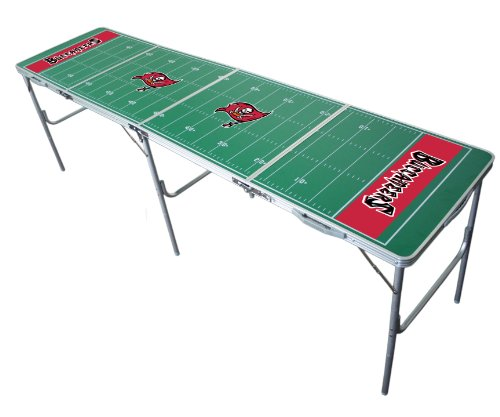 Tampa Bay Buccaneers 2x8 Tailgate Table by Wild Sports
