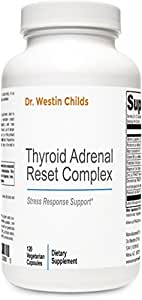 Thyroid Adrenal Reset Complex - #1 Adrenal and Thyroid Support Supplement designed especially for Hypothyroid patients - Vegan & Non-GMO - 60 Day Supply