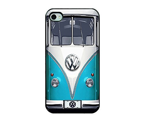 TD LLC -VW MinibusRubber Case for Apple iPhone 7 PLUS (5.5in), Made & Shipped from USA & delivered in 8 Days. Includes front screen protector . Style 34