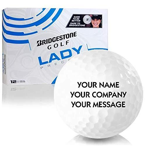 Bridgestone Lady Precept Personalized Golf Balls ()