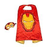 iron man super hero - Red Ironman Superhero Kids Cape and Mask Set