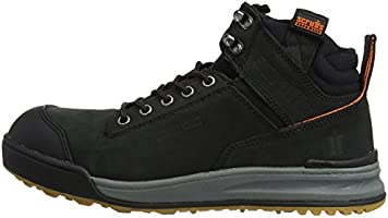 /& 1 Pair of Socks All Sizes Scruffs SWITCHBACK Black Safety Hiker Work Boots