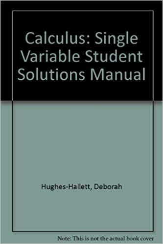 Student solutions manual to accompany calculus for business.