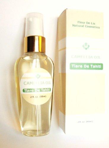 Camellia Oil - Tiare De Tahiti, 2oz / 60 ml., 100% Pure and