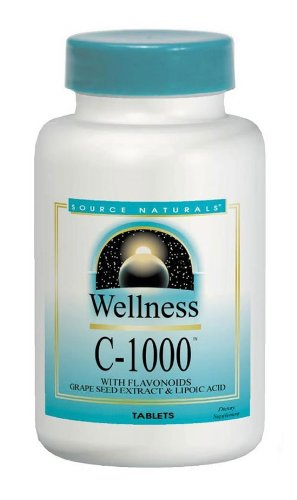 Source Naturals Wellness C-1000, With Antioxidant Protection and Immune Support, 50 Tablets Review