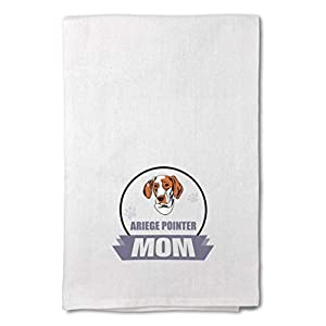 Style In Print Custom Decor Flour Kitchen Towels Mom Ariege Pointer Dog Pets Dogs Cleaning Supplies Dish Towels Design Only 6