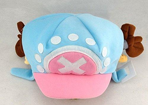 Chopper One Piece Costume (Mxnpolar One Piece Tony Tony Chopper Hat Winter Blue Cap)
