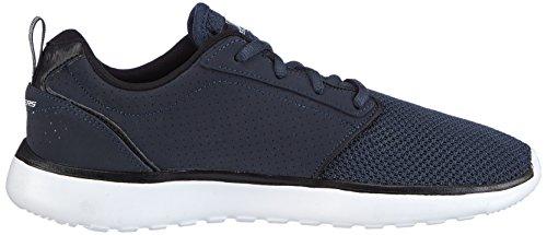 Skechers Counter Part Homme Sneakers Blau (Nvbk) rSZFd