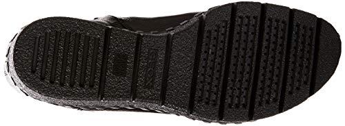 Geox Donna D Wedge Nero black Stivaletti C9999 Wiva E fZBwf7