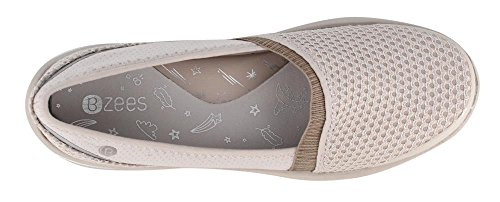 Bzees Donna, Lecca-lecca Slip On Shoes Taupe