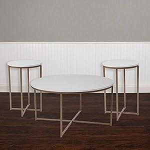 41F8ms2JVRL._SS300_ Beach & Coastal Living Room Table Sets