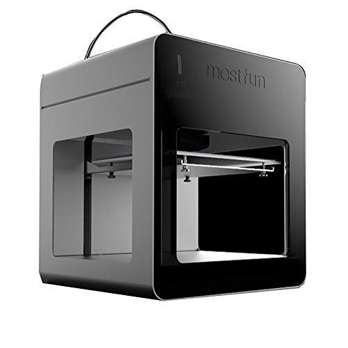 3d printer mostfun 3d printer assembled household and office desktop 3d printer metal frame structure acrylic covers optimized build platform