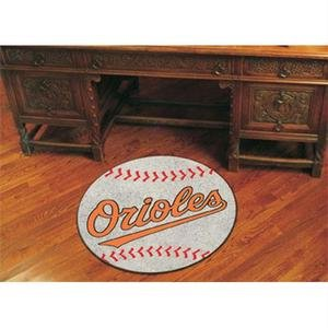 Baltimore Orioles Baseball Rug Mat - MLB Baltimore Orioles Round 29