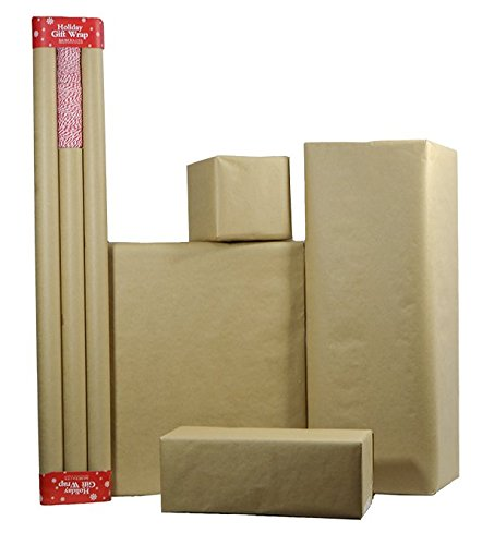 Plain Kraft Wrapping Paper / Postal Wrap