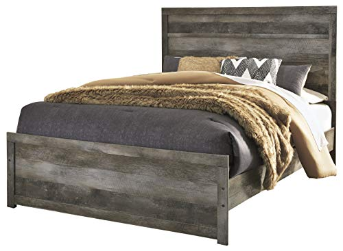 Price comparison product image Ashley Furniture Design - B440 Wynnlow Casual Queen Panel Bed - Gray