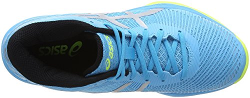 Asics Volleyballschuhe FF Volley Mt Elite Silver Aquarium Blau 400 Damen 6cq64HZ