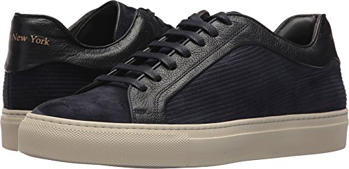 Zu Fuß Barton Walking Shoe New York Männer Blaues Wildleder / Blaues Leder Soft / Nappa S./Lined