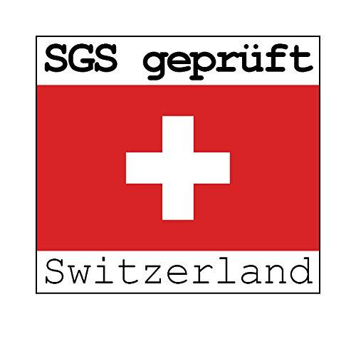 Set di 6 SGS Testato Albatros San Remo Sedie da Pranzo Antracite//Grigio