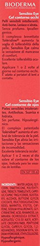 Bioderma Sensibio Gel Eye Contour 0.5 fl oz