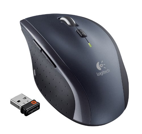Logitech Wireless Marathon Mouse M705 with 3-Year Battery Life (3 Button Mouse Logitech)