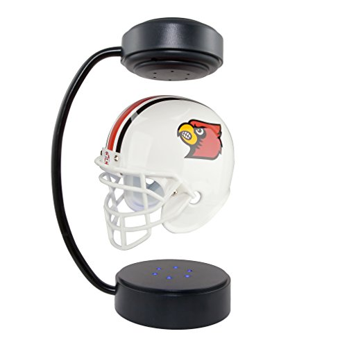 Louisville Cardinals  NCAA Hover Helmet - Collectible Levitating Football Helmet with Electromagnetic ()