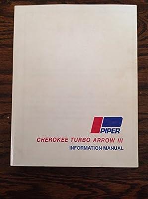 Cherokee Turbo Arrow III Information Manual (PA-28R-201T)