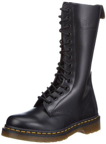 Unisex Lace Black Dr Adult 1914 Martens Boots Up Original qntaOxTfag