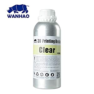 Wanhao 3D-Printer UV Resin - 1000 ml - Clear by Wanhao